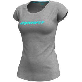 Dynafit 24/7 Drirelease Koszulka z krótkim rękawem Kobiety, quiet shade melange